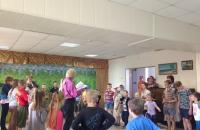 День защиты детей в селе Погорелка