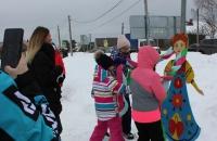 Жители и гости села Глебово отпраздновали Масленицу!
