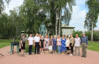 В селе Глебово прошёл митинг - скорби