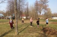 Трудовой десант «Весне навстречу!» в селе Погорелка